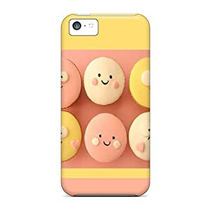 High Quality Shock Absorbing Case For Iphone 5c-cupcakes Lockscreen