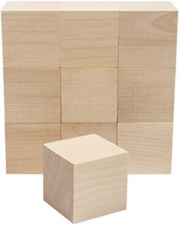 AGLKH Bloques para niños Color Natural Cubo de Madera Bloques de Jenga Pila de Habilidades Juguetes para Adultos Torre Se derrumba Juegos Regalos para niños 1 Juego, B (3.5cm 10pcs): Amazon.es: Hogar