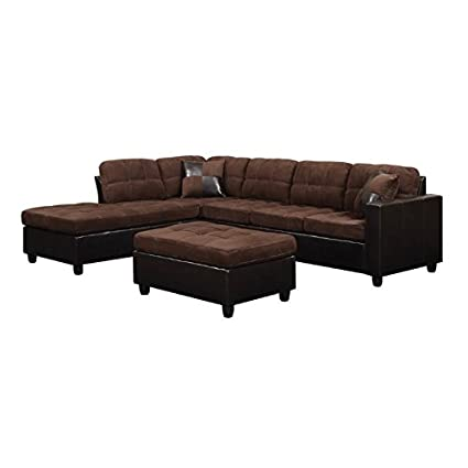 chase leather faux piece studio b sectionals home facing living room brown roland hd furniture compressed sectional baxton couch upholstered depot right the n sofa contemporary