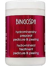 BINGOSPA Tratamiento hidromineral para pedicura y peeling - 1000 g
