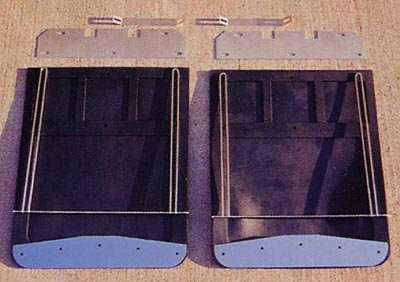 Go Industries 70732SET Mud Flap W//Brkt Hd Chvy
