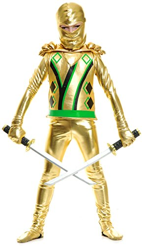 Charades Child Golden Ninja Series III Costume,