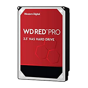 "WD Red Pro 8TB NAS Internal Hard Drive - 7200 RPM Class, SATA 6 Gb/s, CMR, 256 MB Cache, 3.5"" - WD8003FFBX"