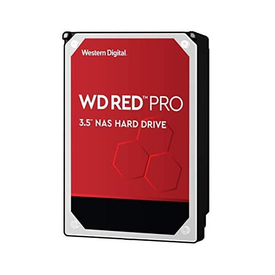"""WD Red Pro 4TB NAS Internal Hard Drive - 7200 RPM Class, SATA 6 Gb/s, CMR, 256 MB Cache, 3.5"""" - WD4003FFBX 41J4H4WqJ0L. SS555"""