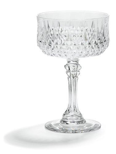 Set Sherbert (Cristal D'Arques Longchamp Sherbert, Set of 4)