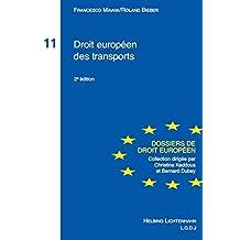 Droit européen des transports