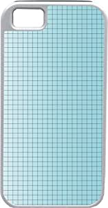 Blueberry Design iPhone 4 4S Case Cover Light Blue Background Blue Checked Design