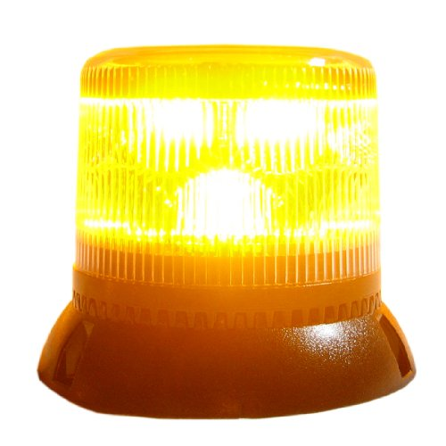 - Code3/PSE - Amber/Clear Permanent Mount Two Level LED Beacon