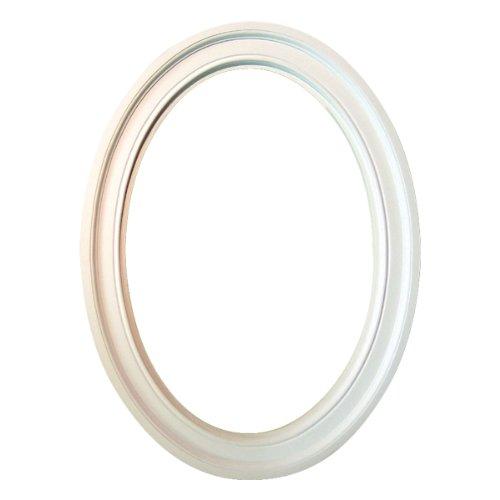 Fypon OV24X36X4M 24 1/8''IW x 36 1/16''IH x 3 1/2''TW Decorative Oval Trim by Fypon