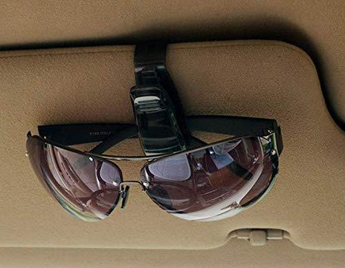 Sonnenbrillen Brillen mit Kartenkarten Clip Gaocheng Brillenhalter f/ür Auto Sonnenblende Schwarz