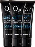 O3+ - Espuma limpiadora Hombre Ocean Mela Derm – Pack de 3 Lavados faciales
