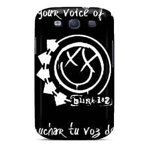 Great Cell-phone Hard Covers For Samsung Galaxy S3 With Allow Personal Design Vivid Blink 182 Band Series SherriFakhry
