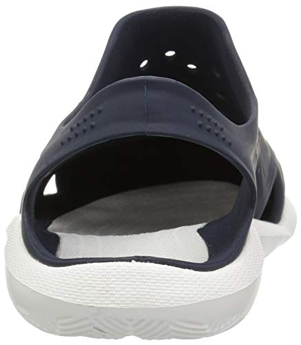 Crocs Men's Swiftwater Wave M Sport Sandal Navy/White 4 M US by Crocs (Image #2)