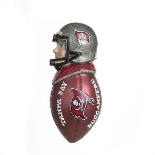 Tampa Bay Buccaneers Nfl Magnet Team Tackler Ornament ()