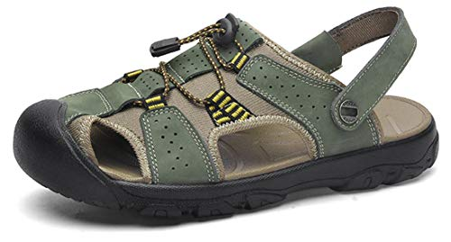 Sports & Outdoor Shoes Sports & Outdoors Yooeen Hiking Sandals Mens Summer Closed Toe Outdoor Sport Sandals Breathable Beach Sandals Trekking Sandals Size 38-50