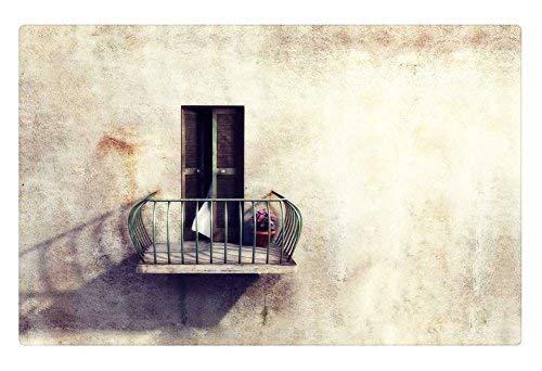 Tollyee Indoor Floor Rug/Mat - Sometimes I Want to be Alone (23.6