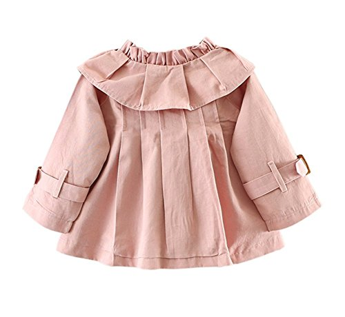 ea140f907 QIANMEI Baby Girls Spring Autumn Princess Bowknot Outerwear Jacket ...