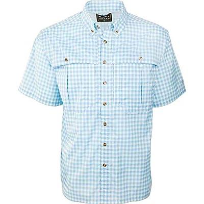 Drake Short Sleeve Featherlite Plaid Wingshooters Shirt