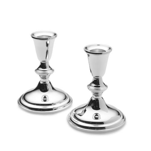 Empire Sterling Plain Border Candlestick Holder, 4-1/8-Inch by EMPIRE