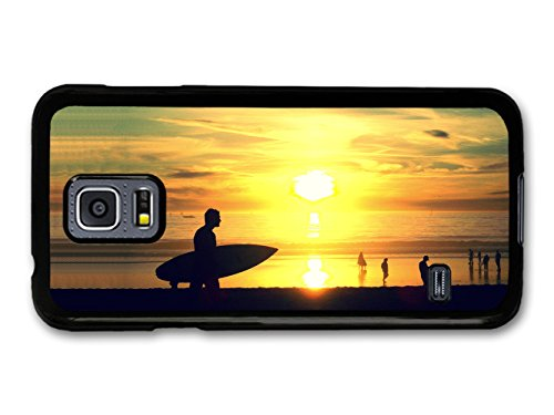 Cool Sunset and Surf on California Beach and Ocean coque pour Samsung Galaxy S5 mini