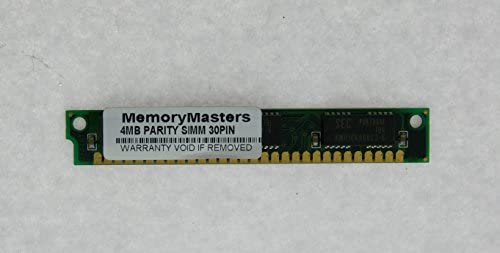 Amazon.com: Memoria RAM de 4 MB 30pin Simm con Paridad 4 x 8 ...