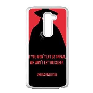 Vendetta World Revolution LG G2 Cell Phone Case White Protect your phone BVS_755348