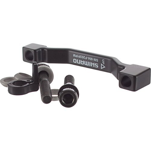SHIMANO Disc Brake Adapters SM-MA-F203 (180mm to 203mm), Post/Post Front/Rear by SHIMANO