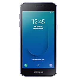 Samsung Galaxy J2 Core 2018 Factory Unlocked (Usa Latin Caribbean) Android Oreo SM-J260M Dual Sim 8MP International Version, No Warranty (Lavender)
