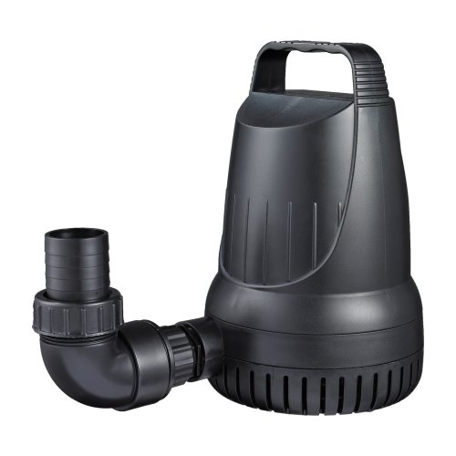 Manta 2,100 GPH Magnetic Drive Submersible Pump – Up To 2,100 GPH Max - Pond Pump Magnetic