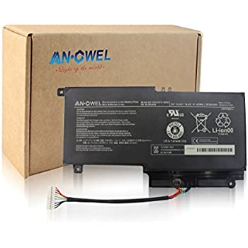 Angwel 14.4V 43Wh PA5107U-1BRS Replacement Battery for Toshiba L45D L50 L55 P55 L55t P50 Series Laptop P55-a5312 P55T-A5116 S50D-A L50-A S50T-A116 S55-A5275 ...