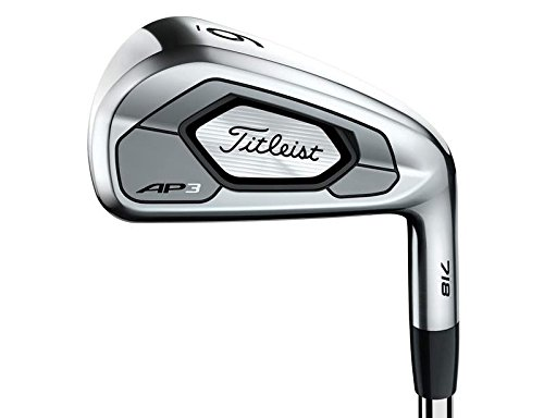 Titleist 718 AP3 Iron Set 4-PW True Temper AMT Black S300 Steel Stiff Right Handed 38 in