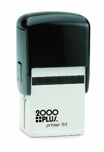Cosco 2000 Plus Printer 54 For medium address or message. Customize up to 10 lines of text. self inking stamp