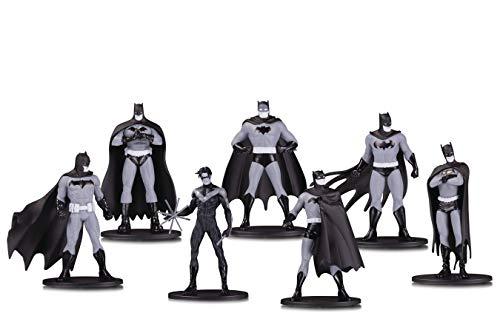 DC Collectibles Batman Black & White Mini Figure 7 Pack Box Set One