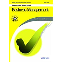 Business Management General / Credit SQA Past Papers