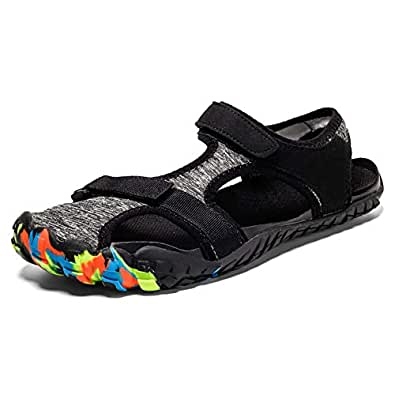 Midumen Sandalias de Playa de Hombres Verano Antideslizantes Senderismo Zapatillas Al Aire Libre Zapatos de Agua para Buceo 39-47 EU