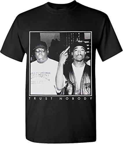 Hip Hop Legend Graphic T-Shirts Trust Nobody Tupac Biggie - Legend Hip Hop