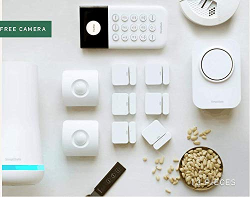 SimpliSafe Wireless Home Security System with Bonus SimpliCam