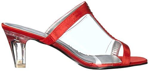 Annie Shoes Womens Tiger W Dress Sandal Red DIa1gPUqD