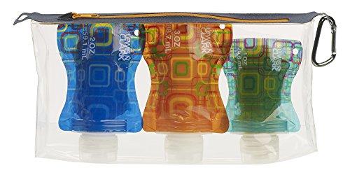 Lewis Clark Flat Bottle Set