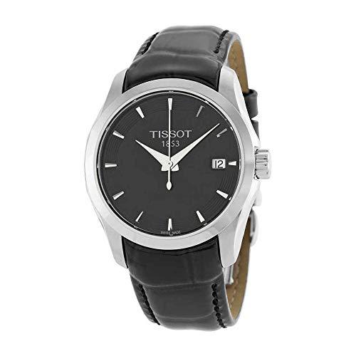 (Tissot Women's T035.210.16.051.00 Black Dial Couturier Watch)