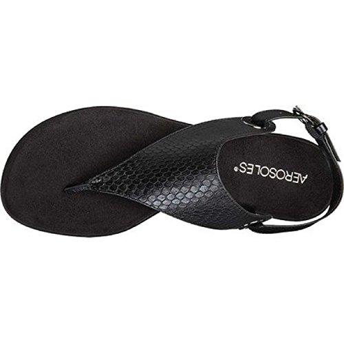 Women's Aerosoles Gladiator Sandal Conchlusion Exotic Black BqArqHdR