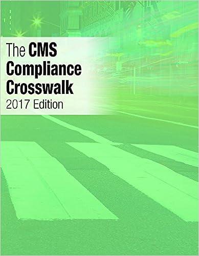 Book The CMS Compliance Crosswalk, 2017 Edition