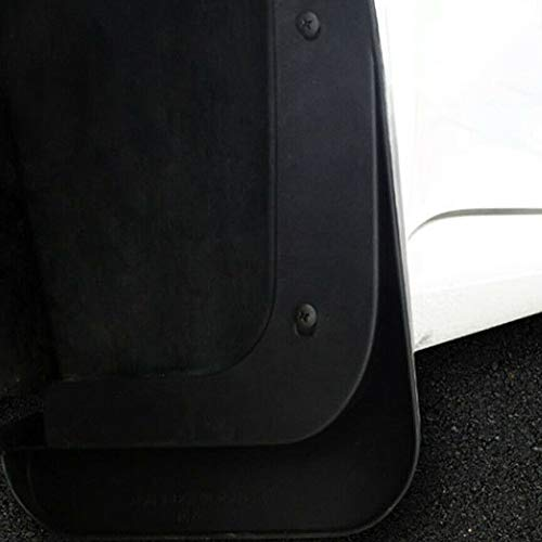 TOOGOO Black Car Mud Flaps Splash Guard Mudguard Fit for Tesla Model 3 2016-2019