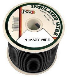 Pico 81083S 8 AWG Black Primary Wire 50' per Package ()