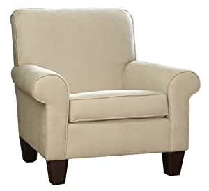 Carolina Cottage Upholstered Oxford Club Chair, Beige