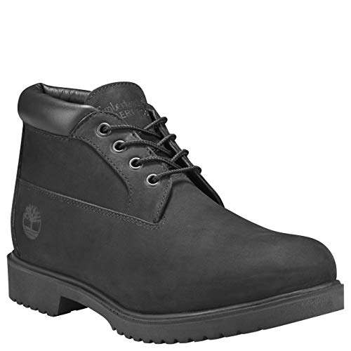 Timberland A224X Men's Waterproof Chukka Boot, Black Nubuck - 12 M US ()