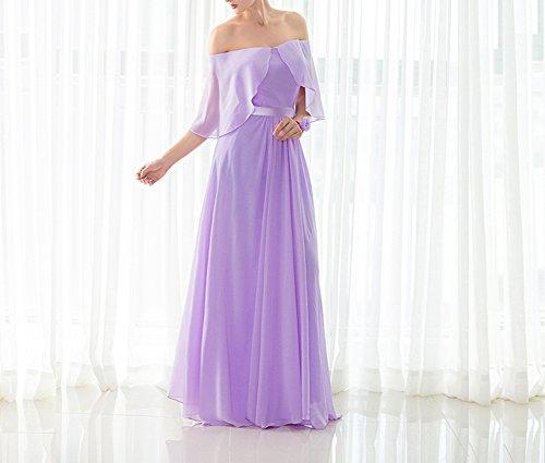 Vestito Lungo Fuori D'onore Promenade Del Bianco Spalla Damigella Sexy Abito Le Della Donne Amore Sposa Di 2017 xw7qvYpS