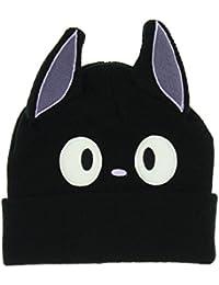Cute Parent-child Knitted Cat Cap Beanie Black