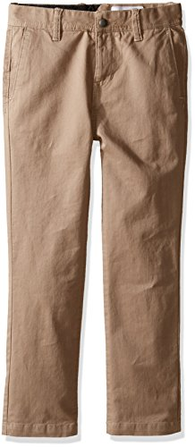 Volcom Boys' Little' Frickin Slim Fit Cotton Twill Chino Pant, Beige, 5