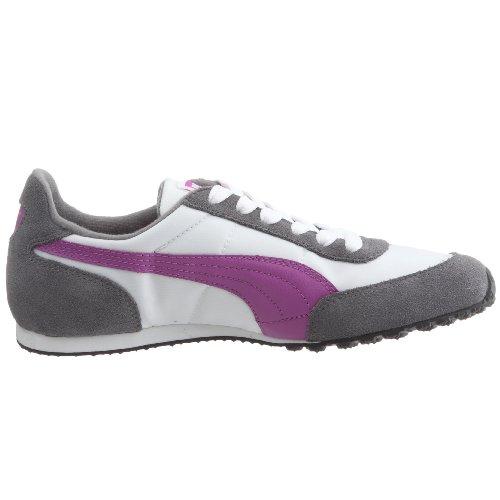 Puma - Zapatillas de Deporte Unisex adulto Gris - Gris/blanc/violet